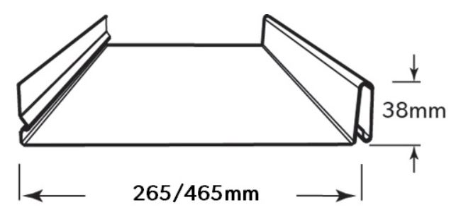 LYSAGHT SNAPSEAM® dimensions
