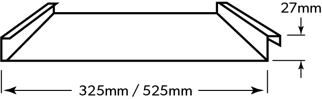LYSAGHT IMPERIAL™ dimensions