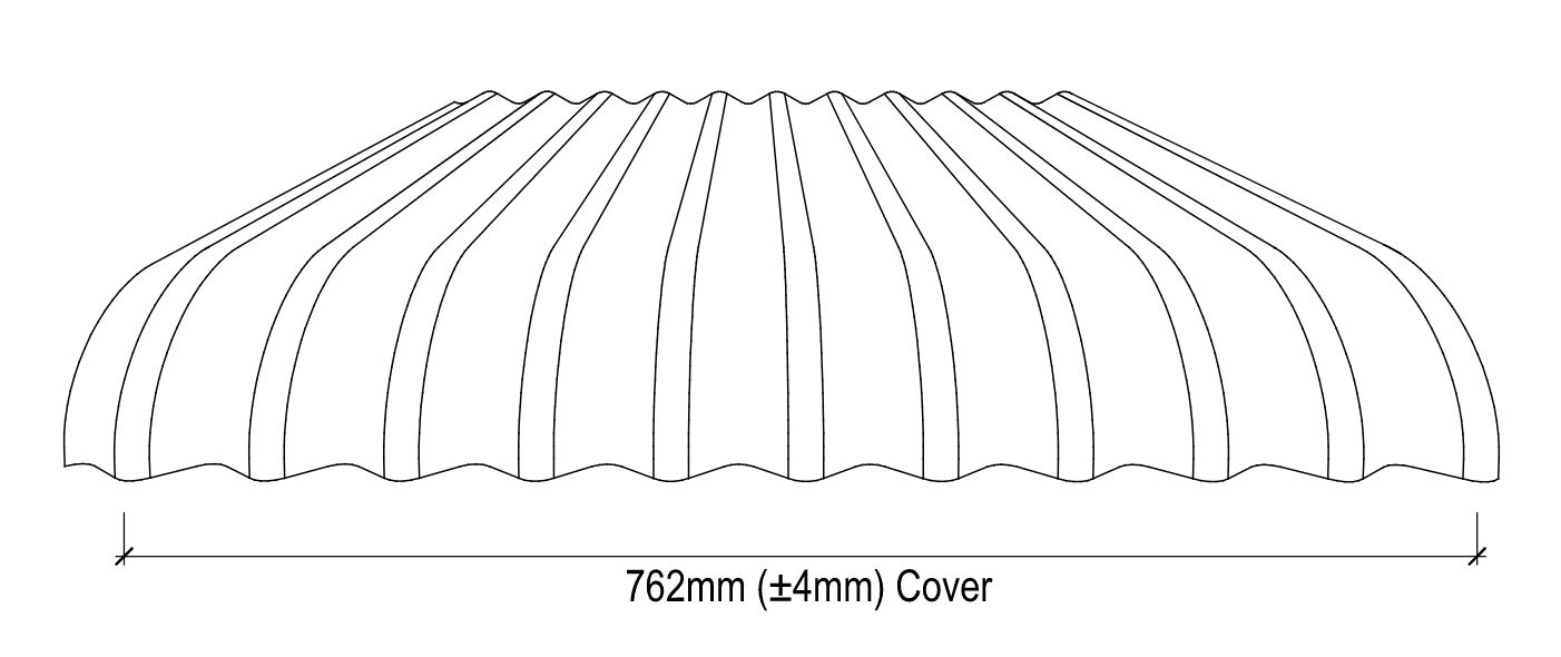 Stramit® Curved Corrugated