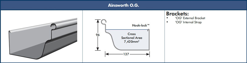 Ainsworth OG Gutter