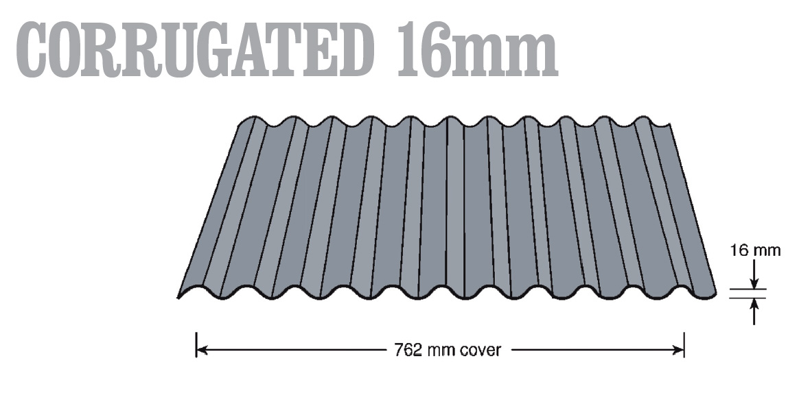 Revolution Roofing Shallow Corrugated 16mm