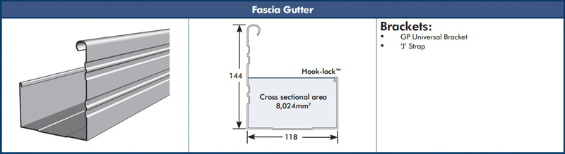 Revolution Roofing Fascia Gutter Steelselect