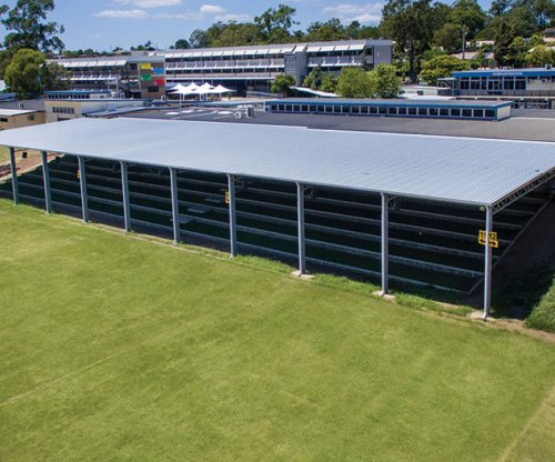 Mansfield State High School, QLD: Covered Walkway Areas
