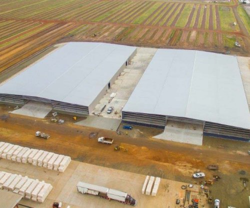 Queensland Cotton Dalby Gin Storage Sheds