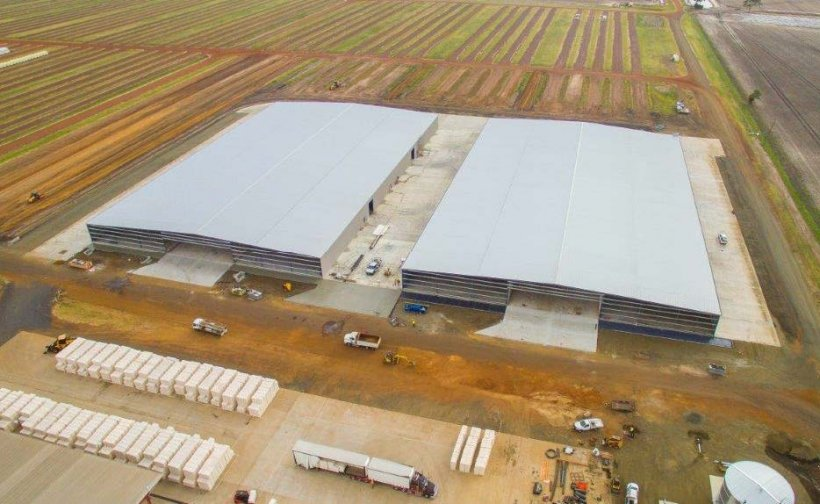 Queensland Cotton Dalby Gin Storage Sheds-Metroll